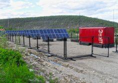В районе строится автономная солнечная электростанция