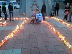 В Алдане прошла акция «Свеча памяти»