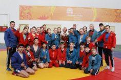 Вице-спикер Ольга Балабкина встретилась с юными самбистами
