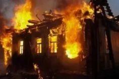 В Нижнем Куранахе горел жилой дом
