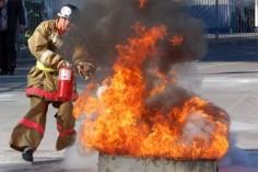 Прошли пожарно-тактические учения на спортивном объекте